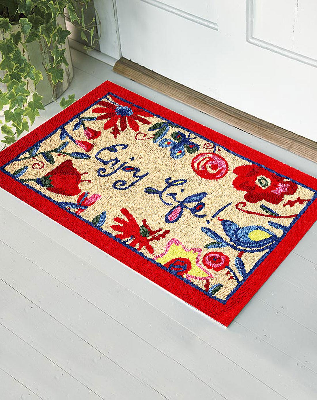 高级手工编织地毯-详情